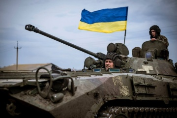 Three Ukrainian servicemen wounded amid 16 enemy attacks in Donbas