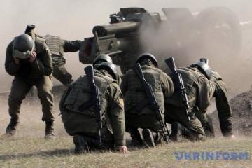 Donbass : Les mercenaires russes déploient des mortiers, un militaire ukrainien blessé