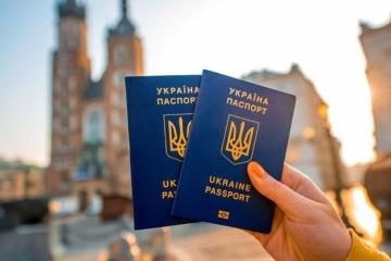 Titular de pasaporte ucraniano para viajar al extranjero puede visitar 130 países sin visado