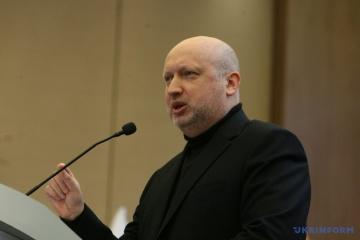 NSDC Secretary Turchynov names key threats to Ukraine from Russia