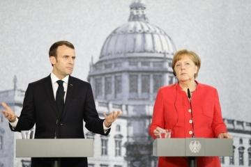 Merkel y Macron piden la liberación de los marineros ucranianos antes de que finalice el año