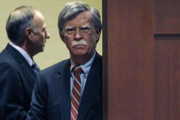 Trump-Berater Bolton in Kyjiw eingetroffen