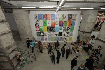Kharkiv hosts opening of tenth triennial of eco-poster 'The 4th Block'