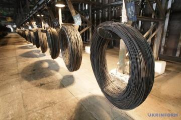 Stahlproduktion in der Ukraine um 6,7 Prozent gesunken