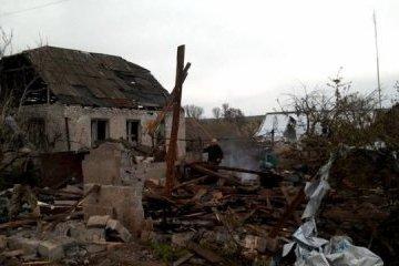 Donbass : Des habitations détruites et des zones privées d'électricité suite à des tirs d'artillerie (photos)