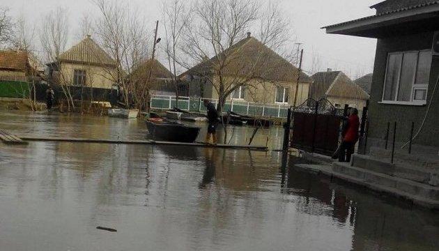 Дунай підтопив у Вилковому на Одещині вже третину вулиць