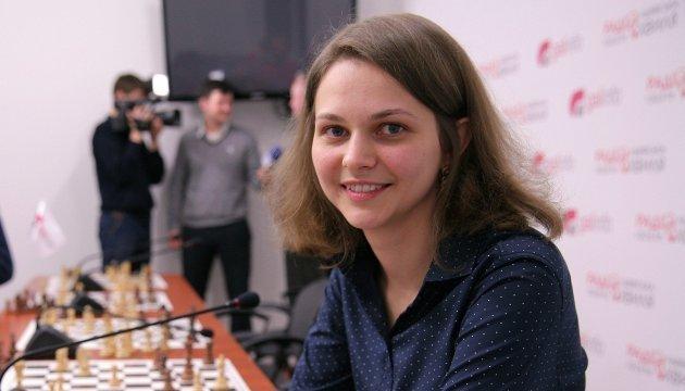 Українська шахістка Анна Музичук стала чемпіонкою Європи з бліцу