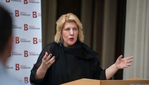 Україна закликає Міятович допомогти зі звільненням бранців Кремля