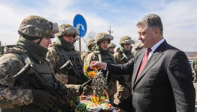 Nobody deprives Ukrainian military of right to rebuff provocations - Poroshenko