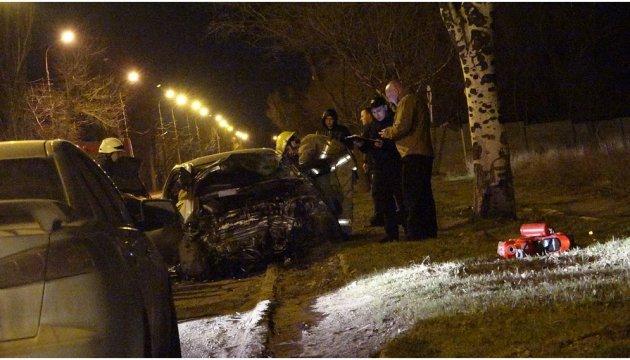 Drei Tote nach Frontalcrash in Mariupol - Fotos