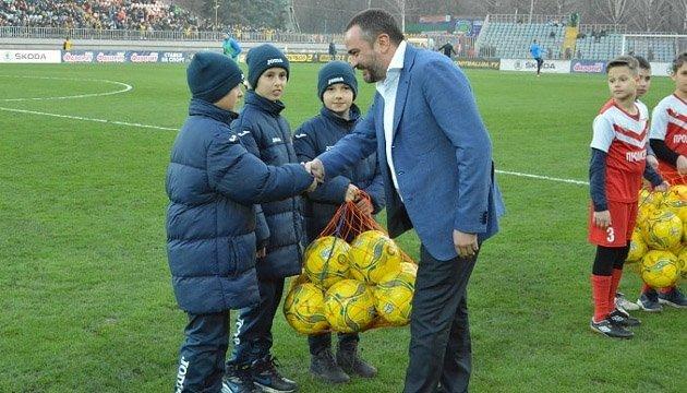 Павелко: Маріуполь подарував футбольне свято всій країні