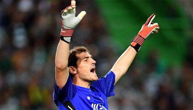 Футбол: Ікер Касільяс зіграв 1000-й матч у кар'єрі