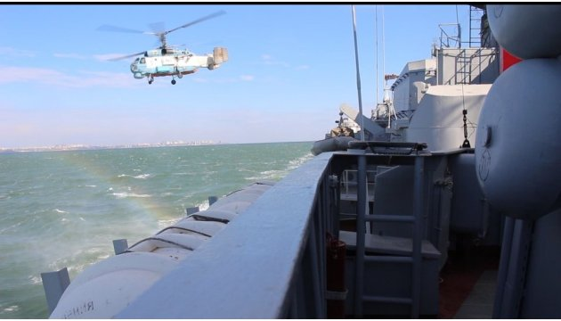 Hetman Sahaidachniy, Turkish warships conduct PASSEX exercise