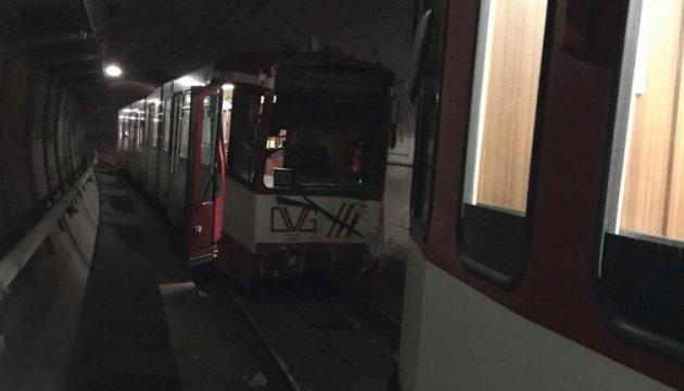 У Німеччині зіткнулися потяги метро