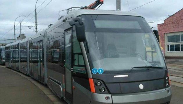Kyiv gets new low-floor trams