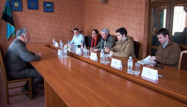 Жебрівський обговорив із сенатором США Портманом ситуацію на Донеччині