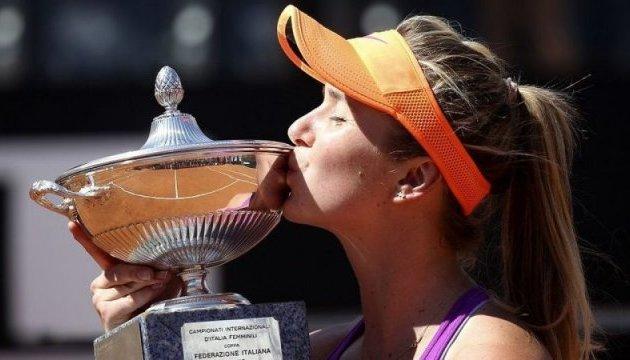 Теніс: Світоліна захищатиме свій титул у Римі
