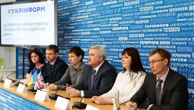 Житомир, Івано-Франківськ та Кропивницький зроблять важливу для мешканців інформацію доступною