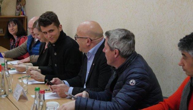 Французька делегація відвідала Донбас, у полі зору – перспективи бізнесу
