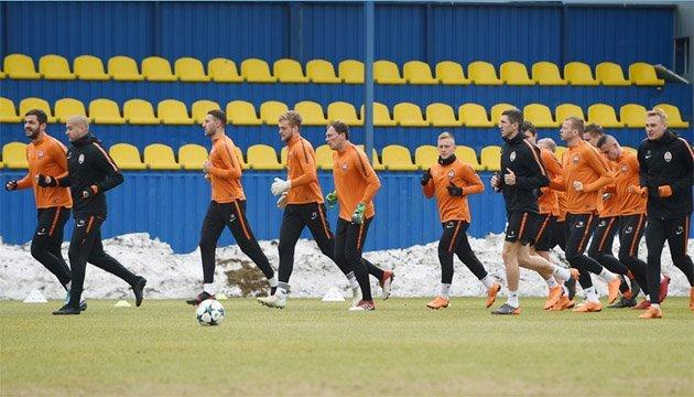 Футбол: Степаненко і Бутко тренуються окремо перед матчем з