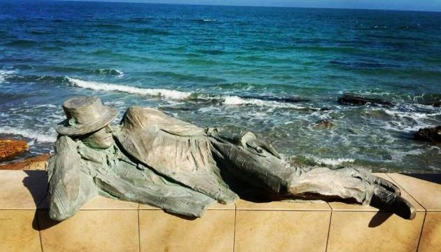 На березі Чорного моря оселився