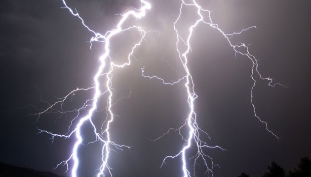На Ривненщине молния поразила сразу двух людей