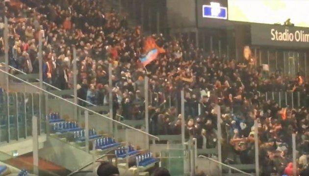 УЄФА все ж відкрив справу щодо прапора «ДНР» під час матчу «Рома» - «Шахтар»
