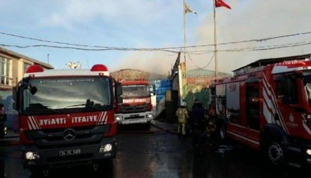 В Стамбуле произошел еще один крупный пожар – сгорела фабрика