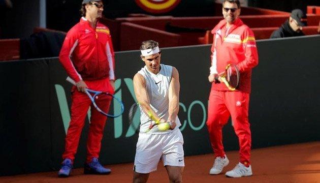 Теніс: Рафаель Надаль допоможе збірній Іспанії в чвертьфіналі Кубка Девіса