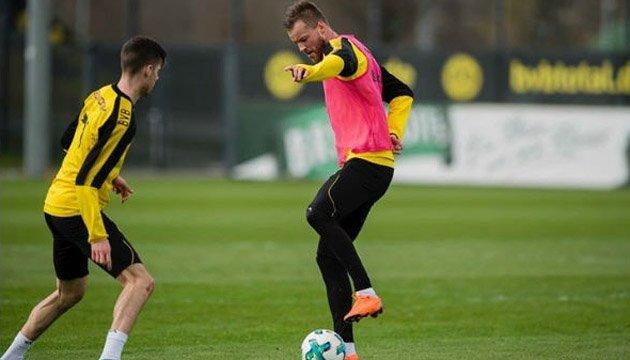 Футбол: Ярмоленко повернувся до тренувань у загальній групі
