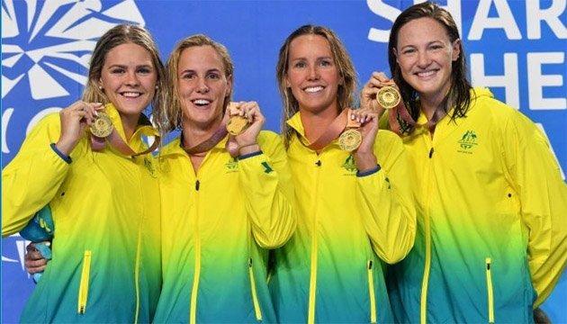 Австралійки встановили світовий рекорд з плавання