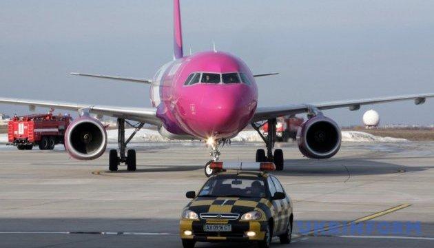 Wizz Air открыла пять новых рейсов из Украины в Европу