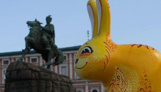 На Софийской площади стартовал фестиваль писанок