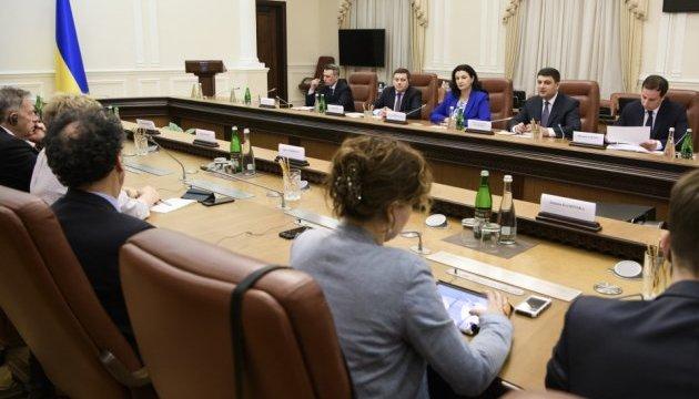 Гройсман розповів представникам Європарламенту про амбітні економічні плани