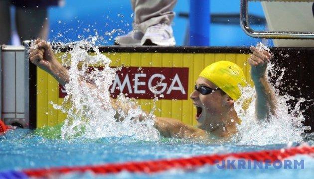 Schwimmen: Romantschuk holt Silbermedaille in 1500 m Freistil
