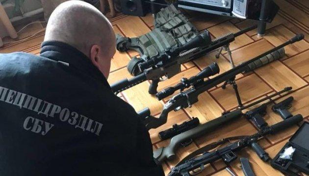 В Одесі вилучили арсенал зброї, яку могли використати для провокацій на свята