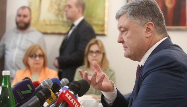 Poroshenko: Nuestra será la victoria