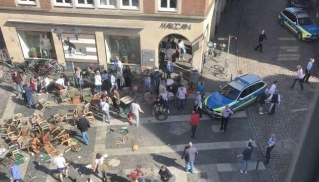 """В Германии умерла еще одна жерства """"тарана"""" кафе грузовиком"""
