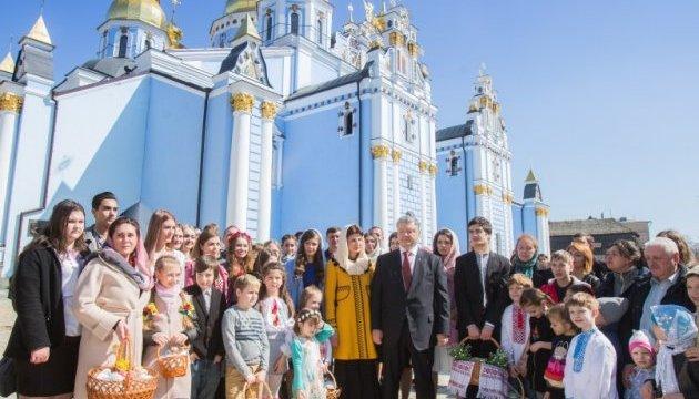 Felicitaciones del presidente de Ucrania con motivo de Pascua