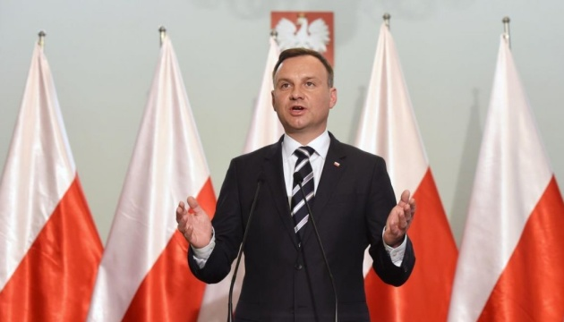 Duda: There would be no separatists in Donbas without Russia's backing