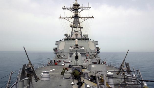 СМИ: Боевой эсминец США приблизился к базе РФ в Сирии