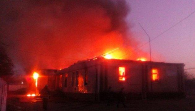 На Дніпропетровщині згоріло кафе