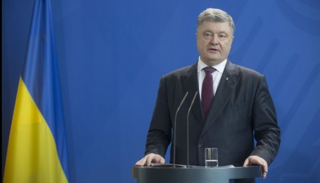 Poroshenko: Ukraine insists on deploying full-scale UN peacekeeping mission in Donbas