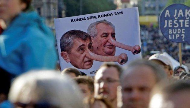 У Чехії протестують проти уряду Бабіша