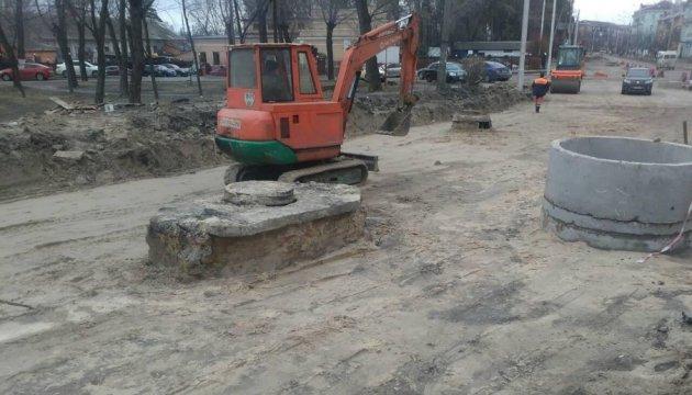 У Києві активізували роботи з капітального ремонту доріг