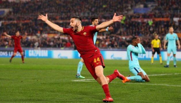 Ліга чемпіонів: «Рома» сенсаційно вибиває «Барселону», «Ліверпуль» вдруге обіграв «Ман Сіті»