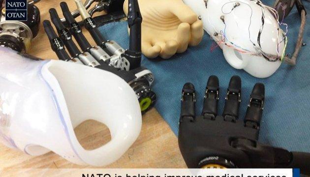 Фонд медреабилитации НАТО начал новую программу в Институте протезирования Харькова