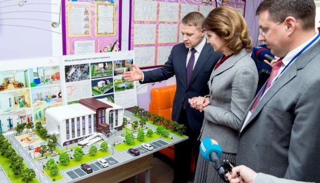 Марина Порошенко на Київщині обговорила створення мережі інклюзивних центрів