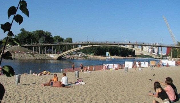 У Києві відкриють нові пляжі та зони відпочинку біля води