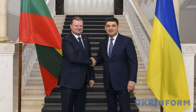 Товарообіг між Україною і Литвою перевищує $1 мільярд - Гройсман